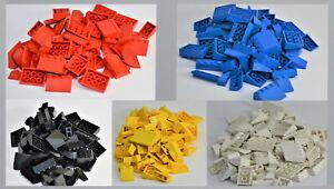 LEGO® City Dachsteine Dachziegel Schrägstein 33° Haus Dach ca. 55 Stück gemischt