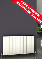 REINA SAVONA ALUMINIUM HORIZONTAL DESIGNER RADIATORS WITH COLOR OPTION, HIGH BTU