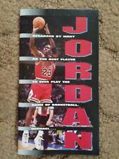 Rare 1994 Michael Jordan Chicago Bulls Photo and Article Book High School, etc.