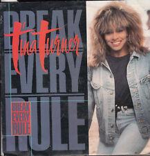 TINA TURNER Break Every Rule / Take Me To The River 45