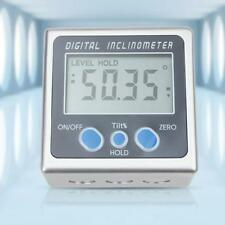 Digital Inclinometer Spirit Level Boxtractor Angle Finder Gauge Meter Bevel  US