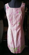 Lilly Pulitzer Pink Coktail Print Sundress 4