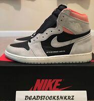 Nike Air Jordan 1 Retro High OG Neutral Grey Hyper Crimson 555088 018 Sizes
