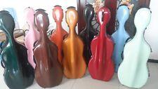 one high quality  fiberglass cello case /wheells 4/4 , cello case