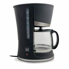 Glas Kaffeeautomat 1,25 Liter 10 Tassen Filter-Kaffeemaschine Permanent-Filter