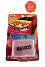 Hearos Racing Ear Plugs Corded with Carrying Case