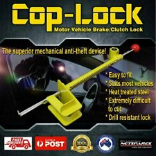 COP-LOCK Anti-Theft Brake Pedal Lock Auto Car Heavy Duty Steel Security Coplock