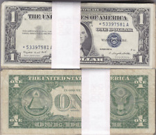 1957 Circulated Silver Certificate Star Notes 100 Count Mixed Lot VG To VF