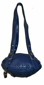NEW Red24 Blue Leather FOOTBALL PURSE Shoulder Bag NFL Chargers Rams Seahawks