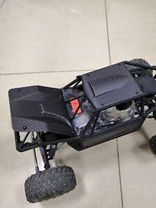 VITAVON Real Carbon Fiber(Black Matt) panel/ body for AXI230012 Axial Capra 1.9