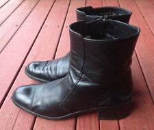 Cole Haan Ladies Ankle Black Boots 8.5 Made In Italy