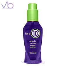 IT'S A 10 Miracle Styling Serum 120ml, Alcohol Free, Made In USA , its a 10