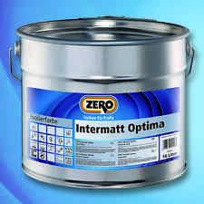 ZERO Intermatt Optima weiß 10 L -Isolieranstrich f. Decke u. Wand-506209010