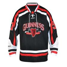 GUINNESS Red and White Hockey Jersey Shirt Irish Ireland New pick your size