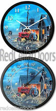 New FARMALL H Tractor Clock & Thermometer Set DAVE BARNHOUSE Starting Them Young