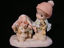 yl Precious Moments-Disney Showcase-Pluto, Goofy, Mickey, Minnie, And Donald