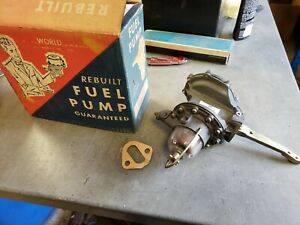 NOS Rebuilt AC Fuel Pump 1955 1958 Oldsmobile 98 88 Super 88 4317 1956 1957