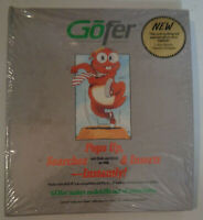 GOfer, by Microlytics, Inc.. 1987 - MINT, SEALED. For IBM PC's...