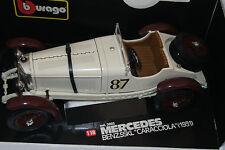 Bburago BURAGO voiture miniature 1:18 Mercedes-benz sskl Caracciola * en OVP * 3002