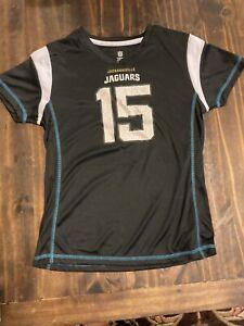 New! Jacksonville Jaguars Gardner Minshew II #15 Girls Medium Sz 7/8 Jersey