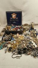 VINTAGE COSTUME JEWELRY ESTATE LOT GOOD AND REPAIR