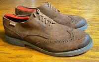 Pikolinos Oxford Wingtips Men's Dress Shoes Size US 9.5 / EU 43 Brown Leather