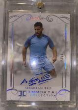 2018 Leaf Immortal Soccer #9/15 Sergio Aguero Auto Argentina Manchester City