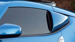 Fits 09-20 370Z Z34 Xenon Urethane 1/4 Quarter Window Scoops Unpainted NEW 13020