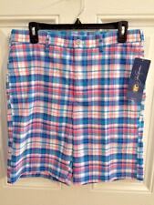 NWT Jack Nicklaus Olympian Blue Plaid Shorts Men's Size 42 Retail $65