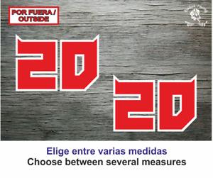 20 Fabio Quartararo El Diablo Sticker Vinilo Decal Vinyl Aufkleber Moto gp