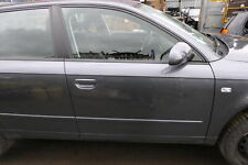 Audi A4 B7 8E Tür vorne rechts grau LY7G Kombi+Limo mit Rahmen