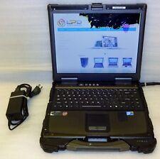 Getac B300-X Rugged Intel Core i7 2.0GHz 4GB RAM touch screen Laptop