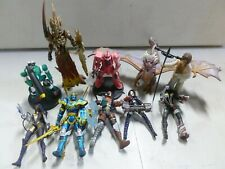 Lot of 10 Assorted Action Figures w/ Dragon, and Planet of the Apes
