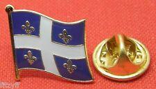 Quebec Country Flag Lapel Hat Cap Tie Pin Badge Québec Gift Souvenir