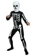 Child Karate Kid Skeleton Suit