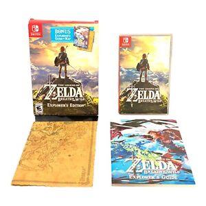The Legend of Zelda: Breath of the Wild - Explorer's Ed. ( Nintendo Switch 2017)