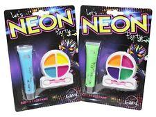 UV Glow Neon Vernice Viso & CORPO - FLUORESCENTE & Super Luminoso - 1 x