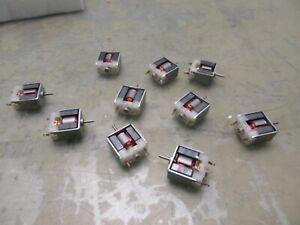Lot of 10 Mabuchi SH-030SA 3V Toy Motors [3*N-44]