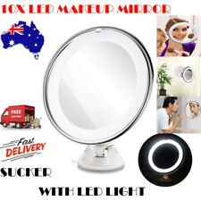 10x Magnifying Makeup Vanity Cosmetic Beauty Bathroom Mirror with LED Light AU