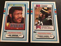 1973 Talking Football PITTSBURGH STEELERS Joe GREENE Mini Record FRANCO HARRIS