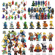 24Stk Ninjago Mini Figuren Set Wu Master/Jay/Kai/Sensei Building Blocks Toys DE