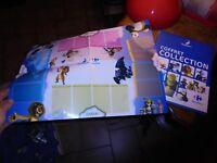 Coffret collection DreamWorks 52 cartes sur 216 et son tapis de jeu : Carrefour