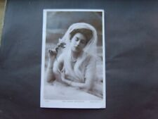 EDWARDIAN ACTRESS: MISS MARION WINCHESTER (1) - RP - ROTARY - POSTED 1906