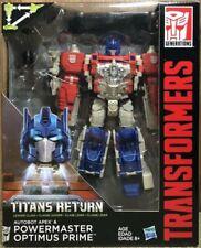 Hasbro Transformers Titans Return Leader Class Apex & Powermaster Optimus Prime