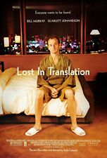 Lost In Translation Double Sided Original Movie Poster 27x40