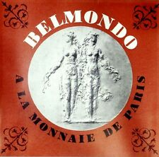 RARE EO SCULPTURE CATALOGUE + DÉDICACE + PAUL BELMONDO A LA MONNAIE DE PARIS