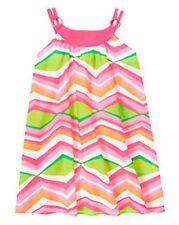 NWT Gymboree Girls Tropi Cutie Chevron Dress Size 4 5 6 7 & 8