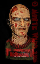 1:1 Resin Freddy Krueger Bust Sideshow ANOES Wes Craven Horror Monster Mask Prop