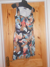 ladies print dress  size 10 by signature suitable with leggings