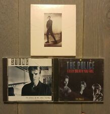STING THE POLICE CD LOT Every Breath You Take The Soul Cages Dream of the Blue